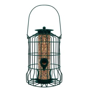 GrayBunny GB-6860 Caged Tube Feeder