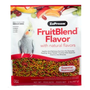 ZuPreem Medium Fruit Blend Bird Diet