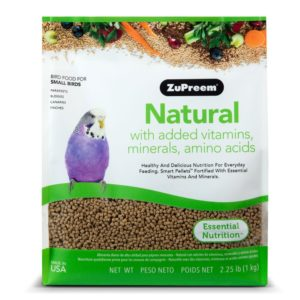 ZuPreem Natural Medium Large Bird Food