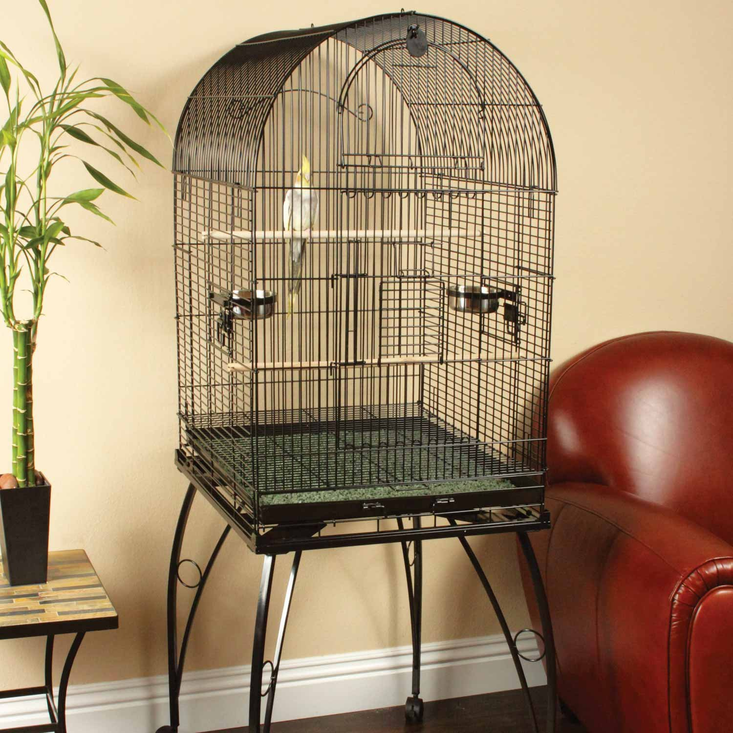 You and me bird cage